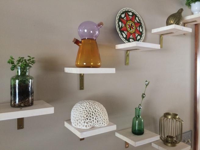 DIY Display Shelves for Under $15