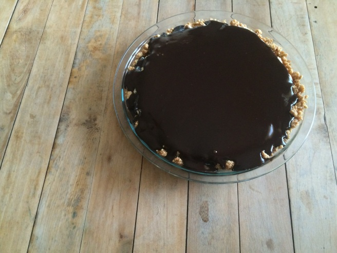 Easy Chocolate Peanut Butter Refrigerator Pie