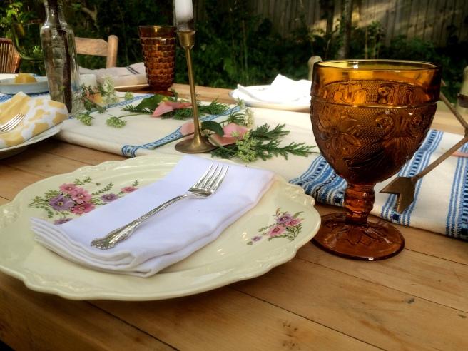 Summer Backyard Dinner Party