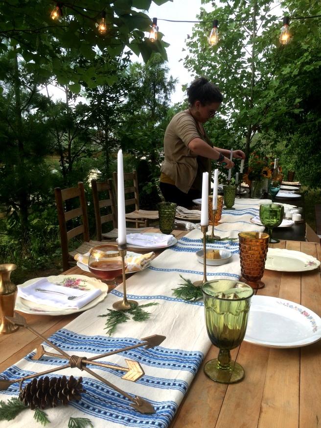 Backyard Summer Dinner Party